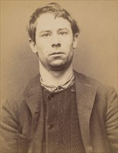 Wallays. Charles. 29 ans, né à Lille. Tailleur d'habits. Anarchiste. 9/3/94., 1894.