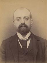 Recco. Grégoire. 35 ans, né à Formia (Italie). Tailleur d'habits. Anarchiste. 11/3/94. , 1894.