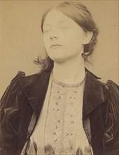Schrader. Minna, Appoline. 19 ans, née à Paris XIe. Sculpteur. Association de malfaiteurs. 24/3/94. , 1894.