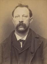 Pierlay. Louis, Victor. 53 ans, né à Paris XVIle. Sculpteur. Anarchiste. 8/3/94., 1894.