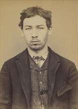 Parisis. Charles. 20 ans, né à Aubervilliers (Seine). Tailleur d'habits. Outrages anarchistes. 10/7/93. , 1893.