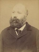 Couchot. Jean. 49 ans, né à Bidache (Basses-Pyrénées). Tailleurs d'habits. Anarchiste. 23/3/94., 1894.