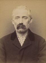 Dejernier (ou Degernier). Edouard. 45 ans, né à Gand (Belgique). Tailleur d'habits. Anarchiste. 8/3/94. , 1894.