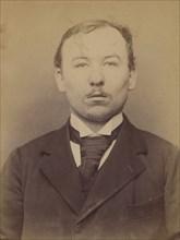 Bruchaesen. Etienne. 31 ans, né à Mag Levard (Hongrie). Tailleur d'habits. Anarchiste. 11/3/94. , 1894.