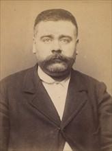 Clidière. François. 39 ans, né le 3/2/55 à Miales (Dordogne). Tailleur d'habits. Anarchiste. 9/3/94. , 1894.