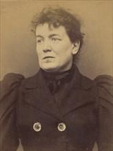 Herman. Caroline. 33 ans, née à Paris Vllle. Couturière. Disposition du Préfet (Anarchie). 21/3/94. , 1894.
