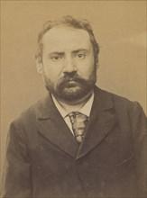LaumesfeIt. Paul, Mathias. 35 ans, né le 29/3/59. à Paris VIe. Tailleur d'habits. Anarchiste. 2/7/94. , 1894.