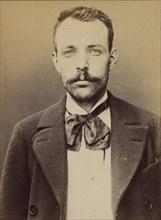 Cluzel. Louis. 30 ans, né le 31/8/63 à Bourg-Argental (Loire). Tailleur d'habits. Anarchiste. 2/7/94. , 1894.