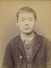 Labeyrie. Romain. 19 ans, né le 13/11/74 à Cauna (Landes). Sculpteur. Anarchiste. 10/1/94. , 1894.