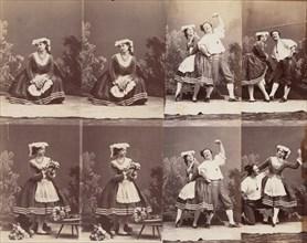 Eugénie Schlosser et Coralli, 1863.