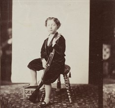 [Imperial Prince with Gun], 1865-66.