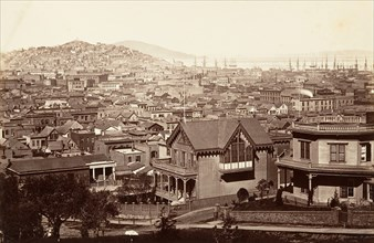 San Francisco, from Rincon Hill, 1864, printed ca. 1876.