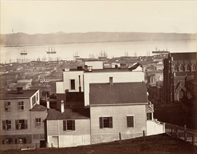 San Francisco, from California and Powell Streets, 1864, printed ca. 1876.