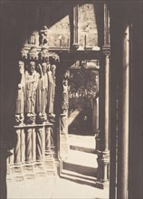 [South Portal, Chartres Cathedral], 1854.
