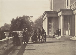 [Lord Brougham and his Family, Cannes], 1862.
