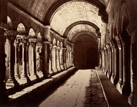 Arles, Cloitre St. Trophime, ca. 1861.