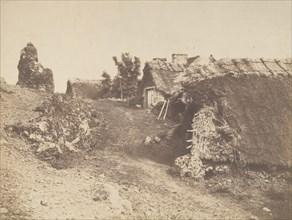 Village de Murols, 1854.