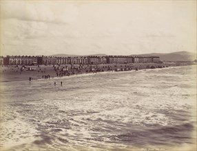 Rhyl, from the Sea, 1870s.