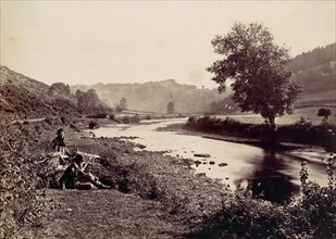 The Wye and Symond's Yat. From Rocklands, 1870s.