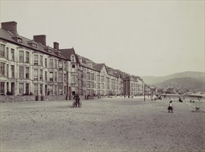 Barmouth. Marine Terrace and Esplanade, 1870s.