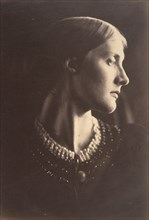 Mrs. Herbert Duckworth, 1867. This portrait of Julia Jackson, suggests Christian and classical ideals of purity, strength, and grace. The photograph was made the year Julia married Herbert Duckworth. ...