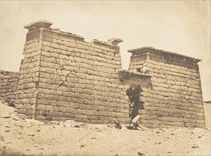 Pylones du Temple de Sébona, April 3, 1850.
