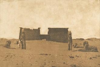 Dromos du Temple de Sébona, April 3, 1850.