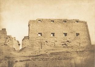 Grand Pylone du Palais de Karnac, Thèbes, 1849-50.