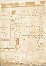 Second Pylone du Temple d'Isis, à Philae, April 13, 1850.