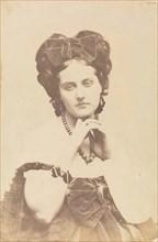 [La Comtesse décolletée; Roses mousseuses], 1861-67.