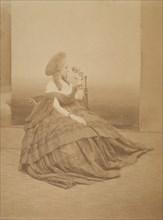 Les yeux mirés, 1860s.