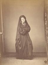 Sèriè à la Ristori, 1860s.