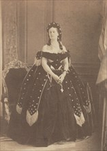 La Comtesse de Castiglione en Reine de la Nuit, 1863-67.
