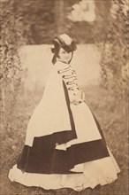 La robe d'été, 1860s.