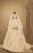 Nonne blanche (en pied), 1860s.