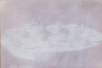 Tavola parecchiata per colazione a Thè, 1839-40.
