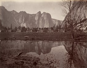 Cathedral Rocks, Yosemite, ca. 1872, printed ca. 1876.
