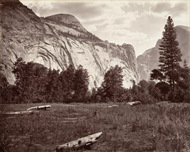 North Dome, 3,725 feet, Yosemite, ca. 1872, printed ca. 1876.