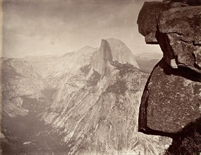 South Dome, Yosemite, ca. 1872, printed ca. 1876.