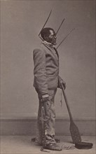 Wilson, Branded Slave from New Orleans, 1863.