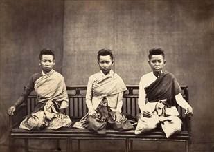 Femmes du Prince Phra-Kéo-Pha, 1866.