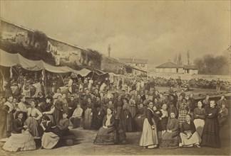 Prison des Chantiers, le 15 août 1871, Versailles, 1870-71.