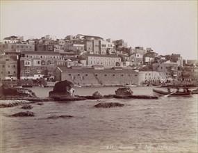 Panorama de Jaffa, ca. 1880.