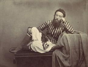 Portrait, Turkish Summer Costume, 1857.