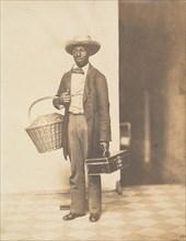 Sam (Campus Vendor, from a Yale Class Abum), ca. 1858.
