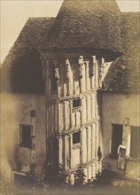 Wooden Staircase at Chartres, 1852.