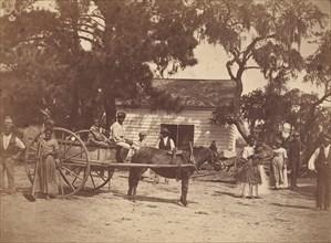 Negroes (Gwine to de Field), Hopkinson's Plantation, Edisto Island, South Carolina, 1862.
