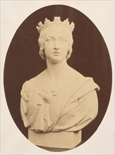 Copy of a Bust of Her Majesty Queen Victoria, by Joseph Durham, Esq. F.S.A., 1857.