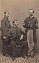 Disabled Union Soldiers Posed in Aid of the U.S. Sanitary Commission at the New York Metropolitan Fair, April 1864.