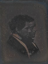 Self-Portrait with Artist's Brother, 1840s.